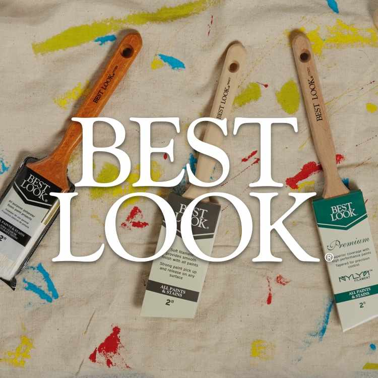 Best Look logo with paint supplies