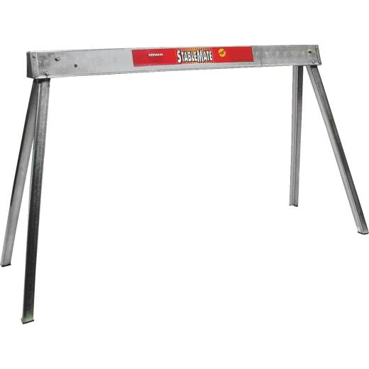 Stablemate 42 In. L Steel Folding Sawhorse, 1000 Lb. Capacity