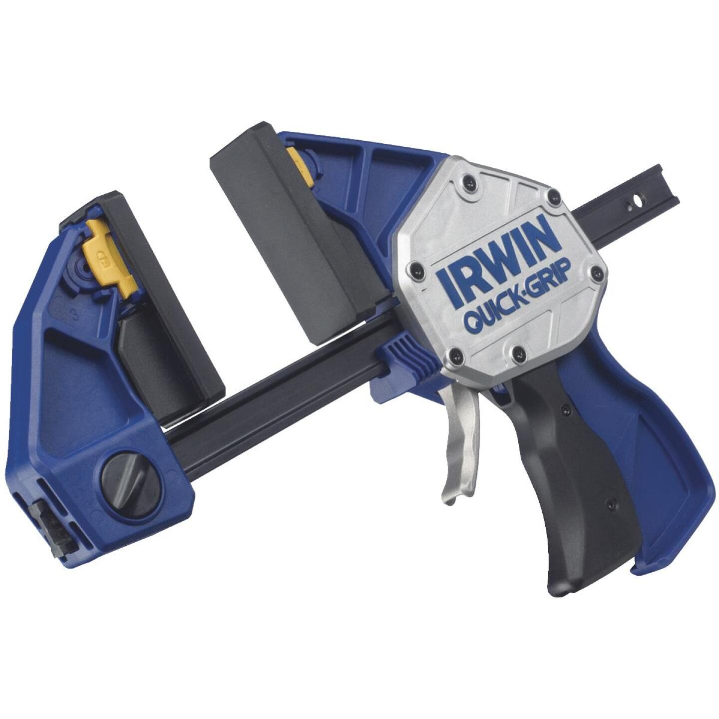 Irwin Quick-Grip XP 6 In. x 3-1/4 In. One-Hand Bar Clamp and Spreader Image 1