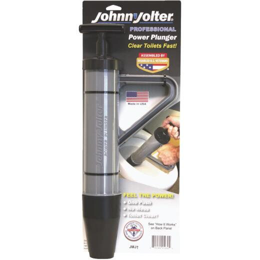Johnny Jolter Pro Power 3 In. Toilet Plunger