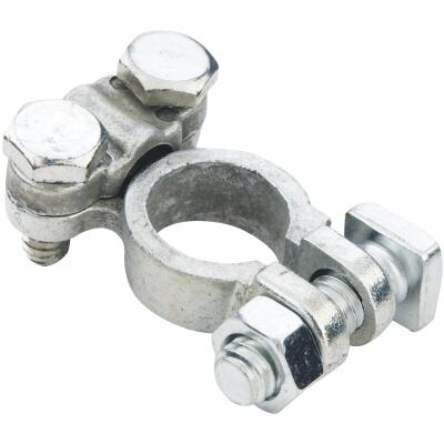 Custom Accessories Top Post Nickel-Plated Battery Terminal