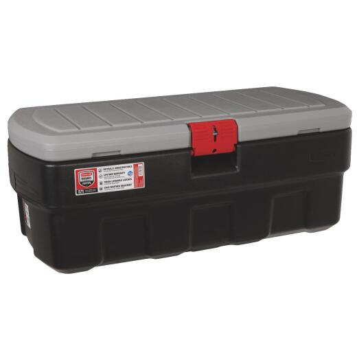 Rubbermaid ActionPacker 48 Gal. Black Storage Tote