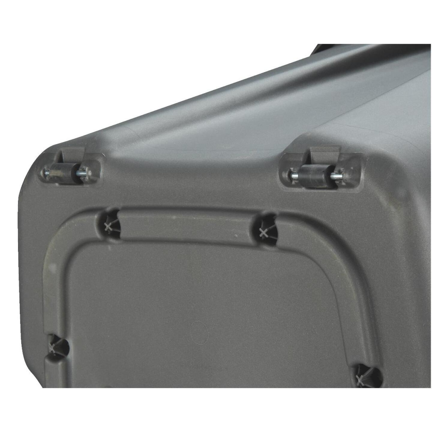 Homz 49 Gal. Gray Wheeled Storage Tote Image 2