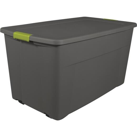 Sterilite 45 Gal. Gray Latch Wheeled Storage Tote