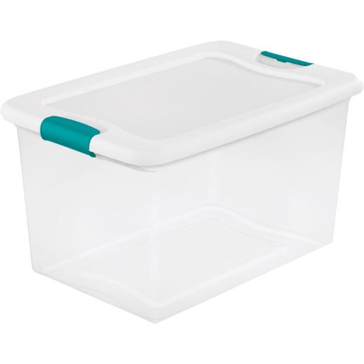 Sterilite 64 Qt. White Latching Storage Tote