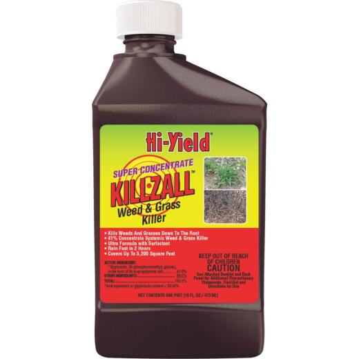 Hi-Yield Killzall 16 Oz. Concentrate Weed & Grass Killer