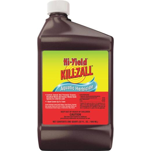 Hi-Yield Killzall 32 Oz. Concentrate Weed & Grass Killer Aquatic Herbicide