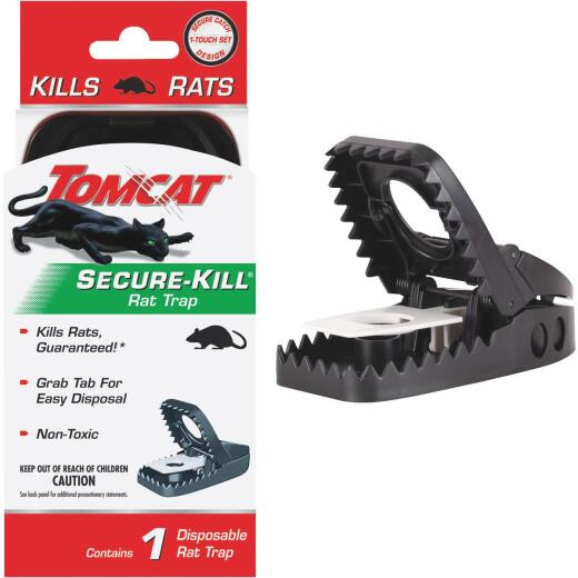Tomcat Secure-Kill Mechanical Rat Trap (1-Pack)