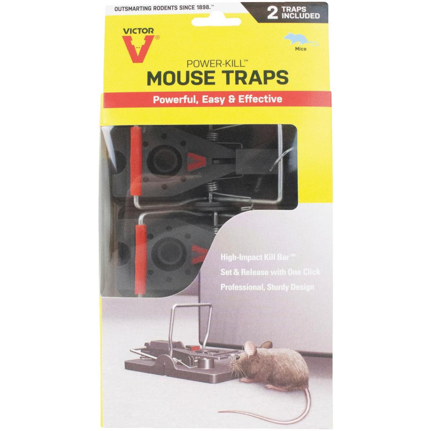 Victor Quick-Kill Mechanical Mouse Trap (2-Pack) Image 1