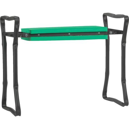Best Garden Green Foam Pad w/Black Steel Frame Garden Kneeler Bench