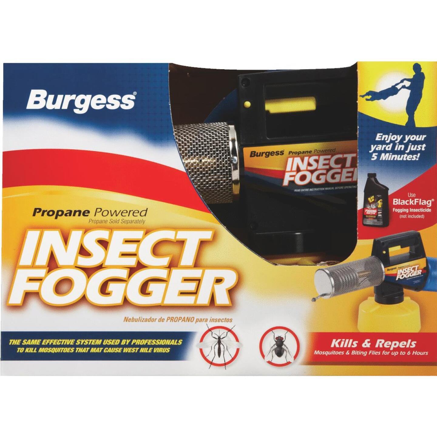 Burgess 45 Oz. 10 Ft. Cone Insect Propane Fogger Image 2