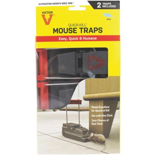 Victor Power Kill Mechanical Mouse Trap (2-Pack)