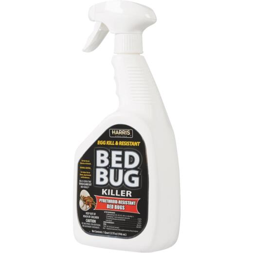Harris 32 Oz. Ready To Use Egg Kill & Pyrethroid Resistant Bedbug Killer