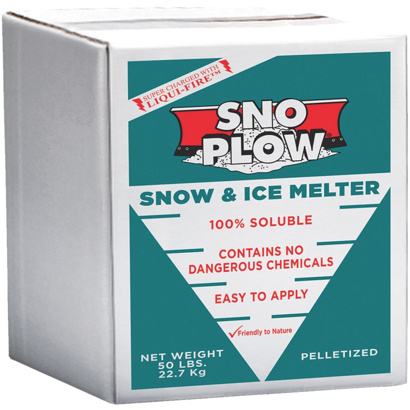 Sno Plow 50 Lb. Box Ice Melt Pellets Image 1