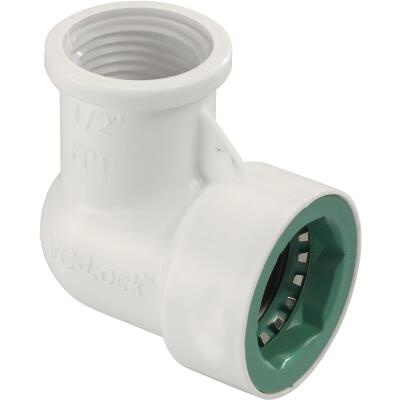 Orbit 1/2 In. x 1/2 In. FPT PVC-Lock Elbow