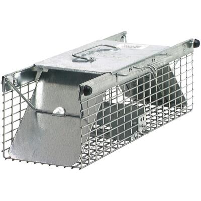 Havahart Galvanized Steel 18 In. 2-Door Large Animal Trap