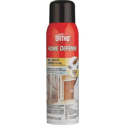 Ortho Home Defense 18 Oz. Aerosol Spray Ant & Roach Killer