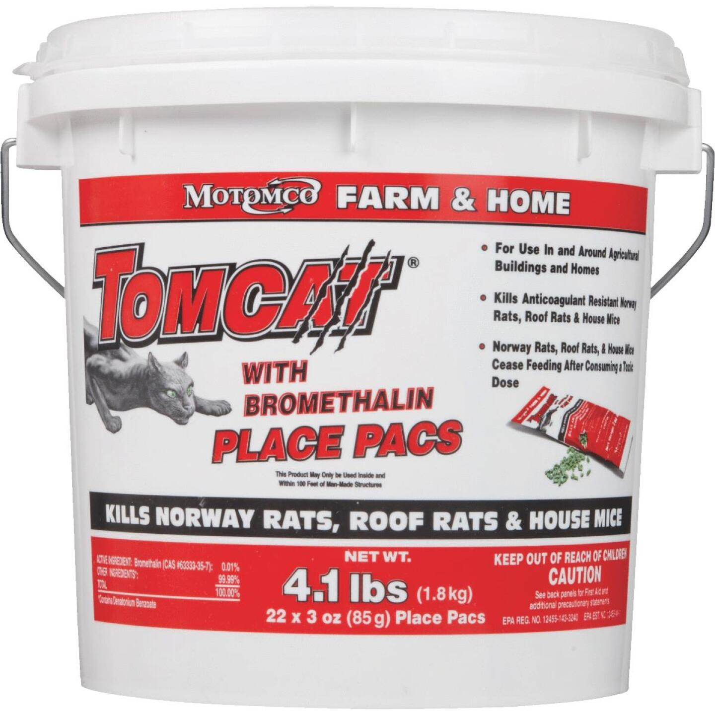 Tomcat Pellet Bait Pack Rat And Mouse Poison (22-Pack) Image 2