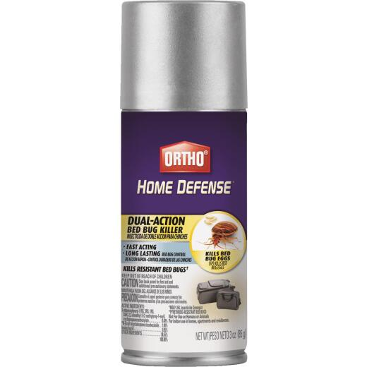 Ortho Home Defense 3 Oz. Aerosol Spray Dual-Action Bedbug Killer Spray