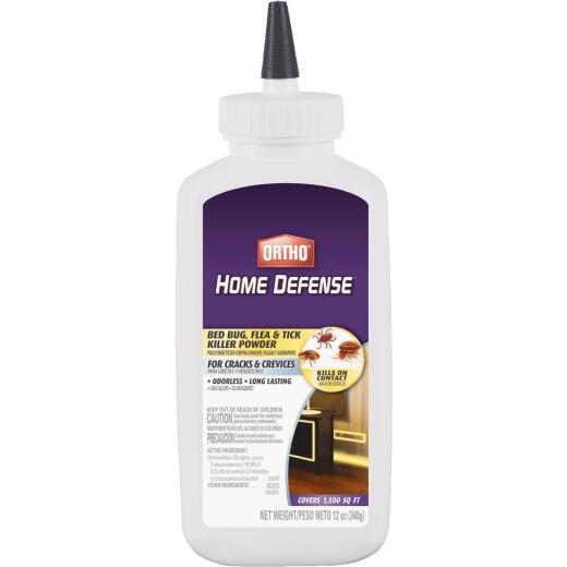 Ortho Home Defense 12 Oz. Powder Bedbug Killer