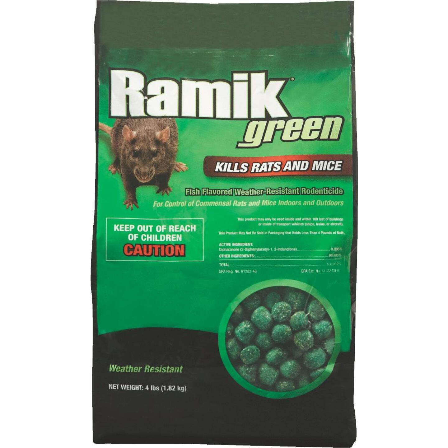 Ramik Green Nugget Rat And Mouse Poison, 4 Lb. Image 1