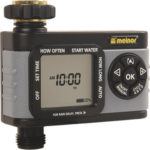 Melnor Hydrologic Digital 1-Zone Water Timer