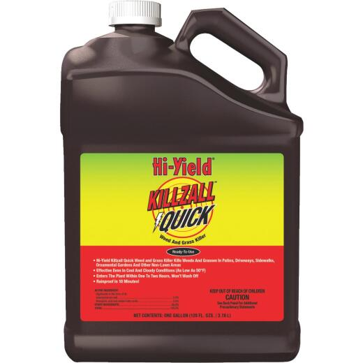 Hi-Yield Killzall Quick 1 Gal. Ready To Use Weed & Grass Killer