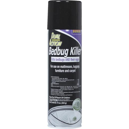 Bonide 15 Oz. Aerosol Spray Dual Action Bedbug Killer