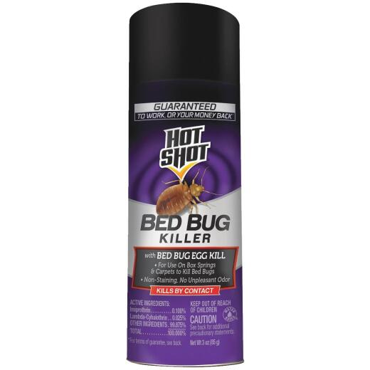 Hot Shot 3 Oz. Aerosol Spray Bedbug Killer
