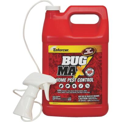 Enforcer BugMax Home Pest Control 128 Oz. Ready To Use Trigger Spray Insect Killer