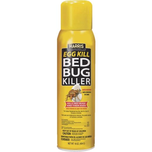 Harris 16 Oz. Aerosol Spray Egg Kill Bedbug Killer