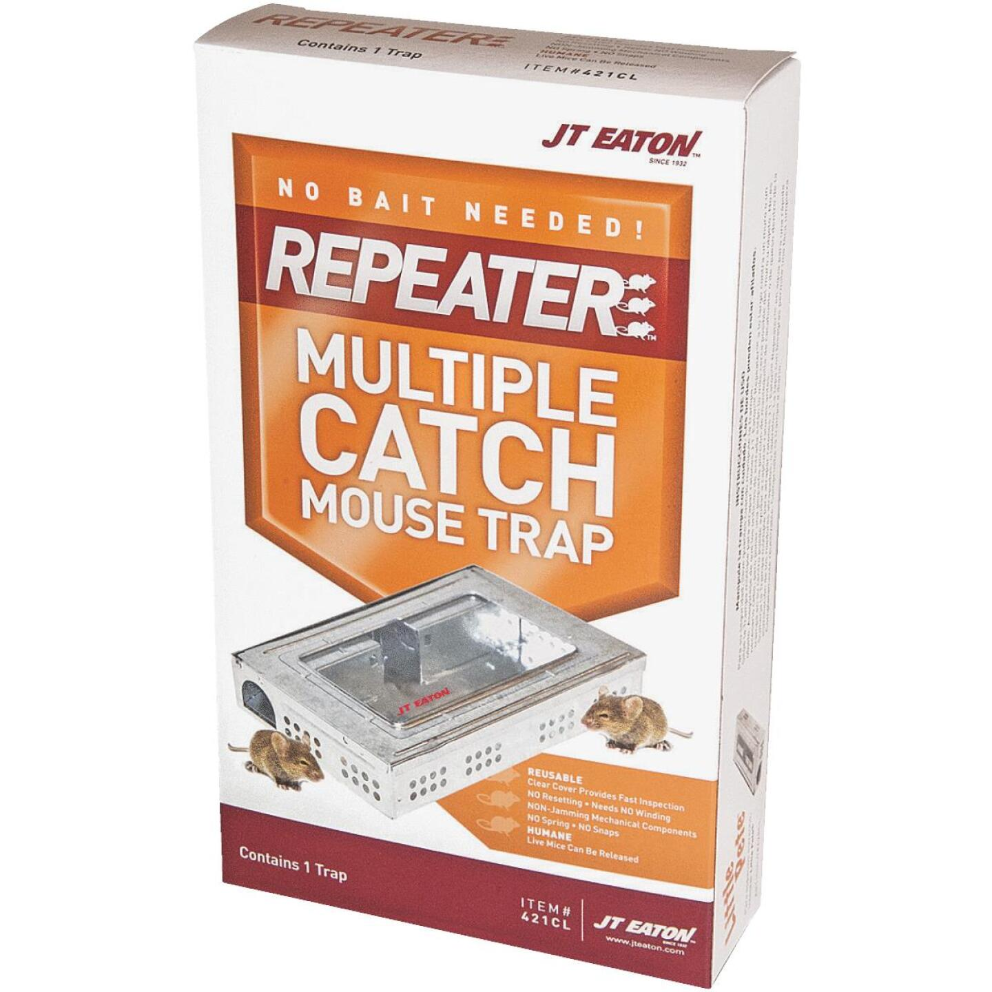 JT Eaton Repeater Multiple Catch Mechanical Mouse Trap with Inspection Window (1-Pack) Image 1