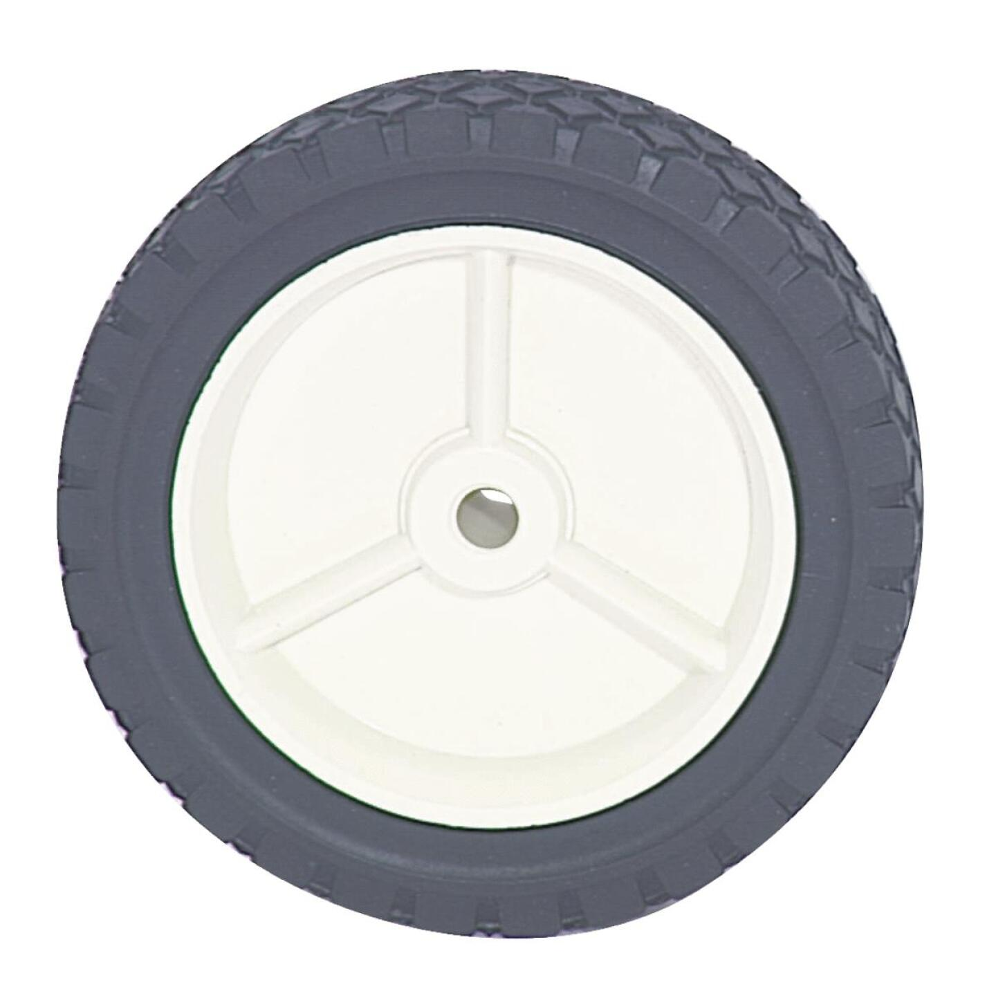 Arnold 7 In. Diamond Tread Offset Hub Wheel Image 2