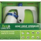 Best Garden Poly 70 Ft. Dia. Blue & Gray Gear Drive Sprinkler Image 2