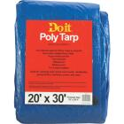 Do it Blue Woven 20 Ft. x 30 Ft. Medium Duty Poly Tarp Image 1