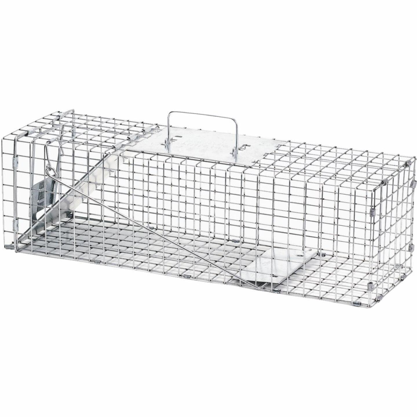 Havahart Professional Galvanized Steel 24 In. Medium Live Animal Trap Image 1