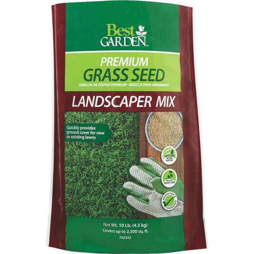 Best Garden 10 Lb. 1500 Sq. Ft. Coverage Sun to Partial Shade Grass Seed