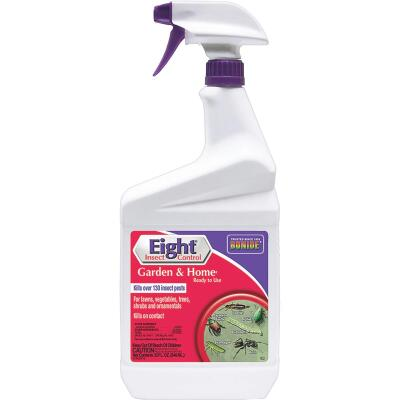 Bonide Eight 32 Oz. Ready To Use Trigger Spray Garden & Home Insect Killer