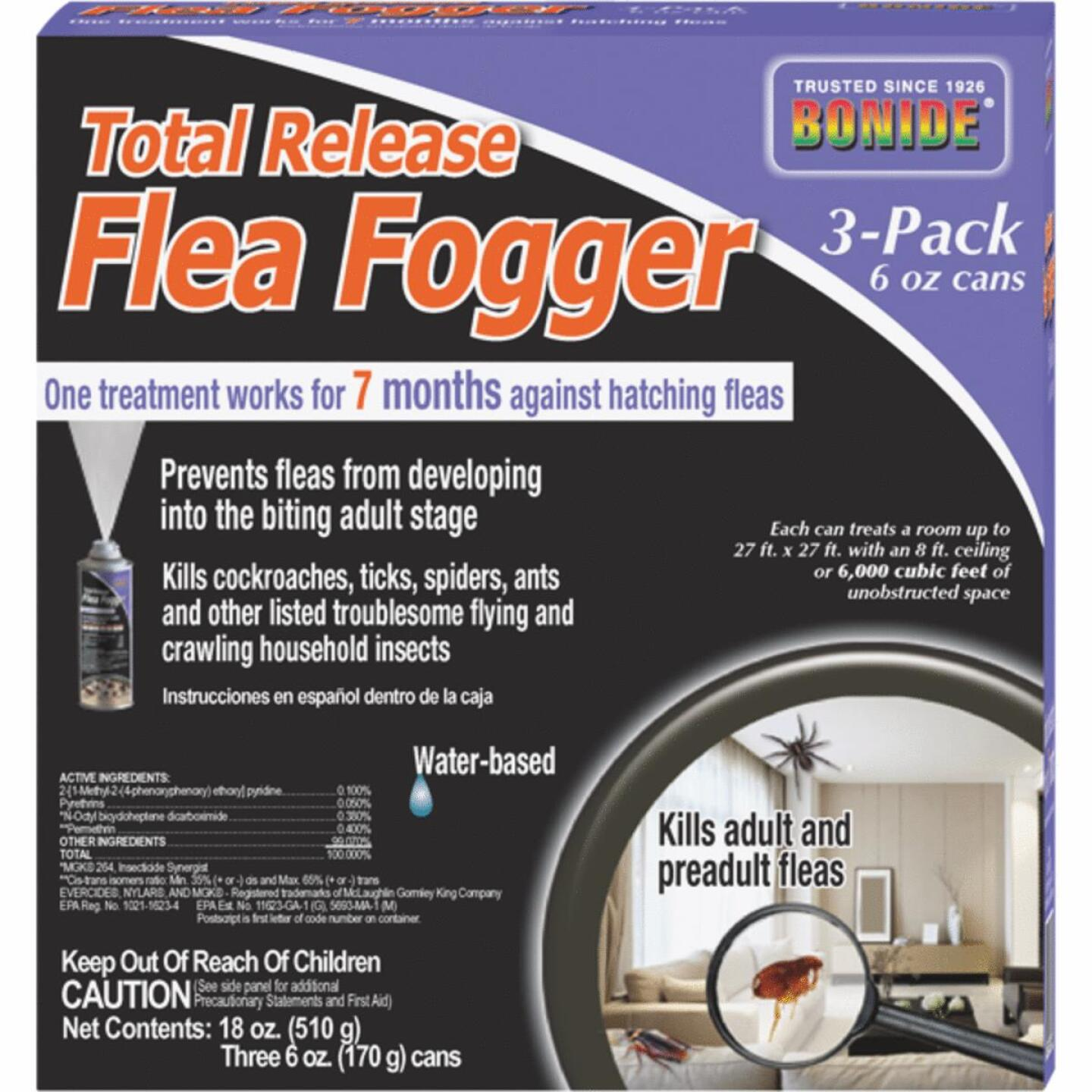 Bonide Flea 6 Oz. Indoor Insect Fogger (3-Pack) Image 1