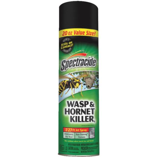 Spectracide 20 Oz. Liquid Aerosol Spray Wasp & Hornet Killer