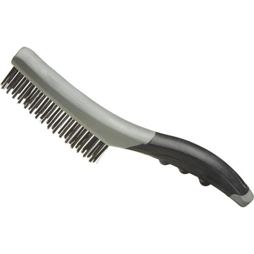 Best Look Shoe Handle Wire Brush