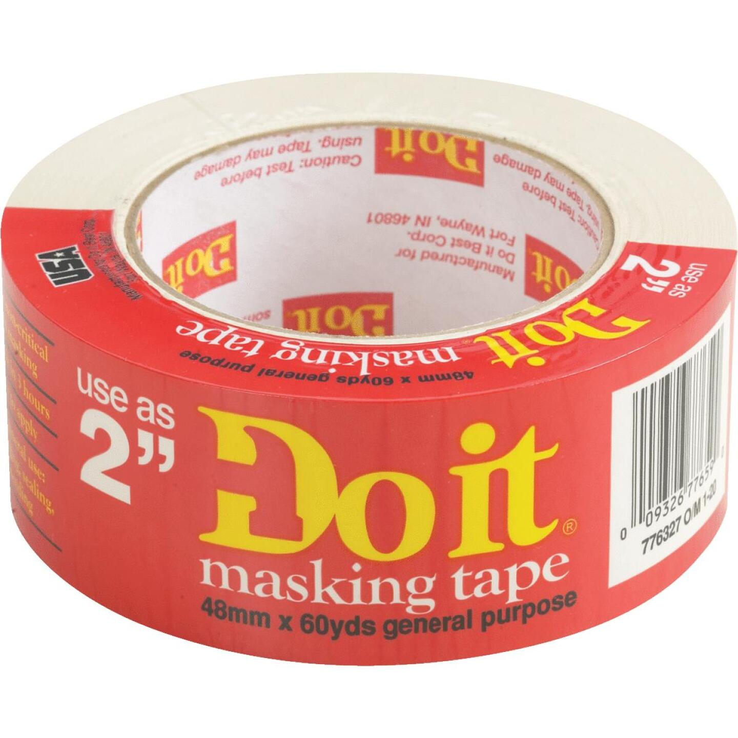 Do it Best 1.88 In. x 60 Yd. General-Purpose Masking Tape Image 1