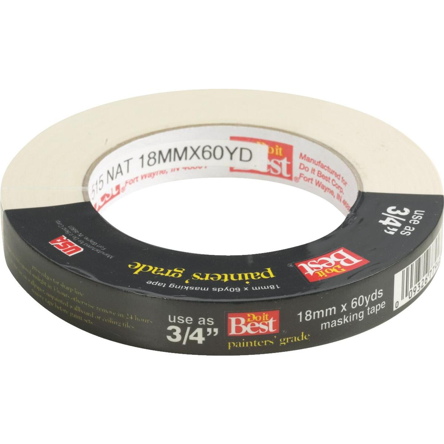 Do it Best 0.70 In. x 60 Yd. Painters Grade Masking Tape Image 1