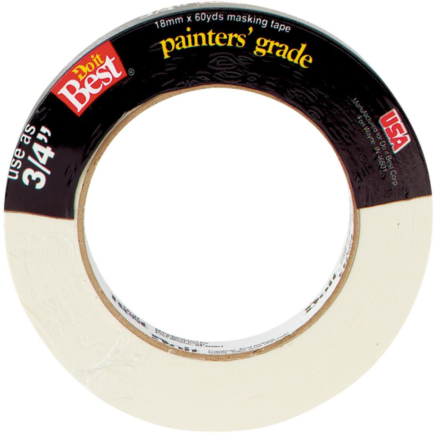 Do it Best 0.70 In. x 60 Yd. Painters Grade Masking Tape Image 2