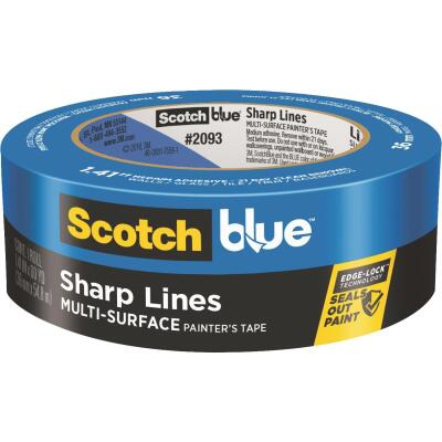 3M Scotch Blue 1.41 In. x 60 Yd. Sharp Lines Painter's Tape