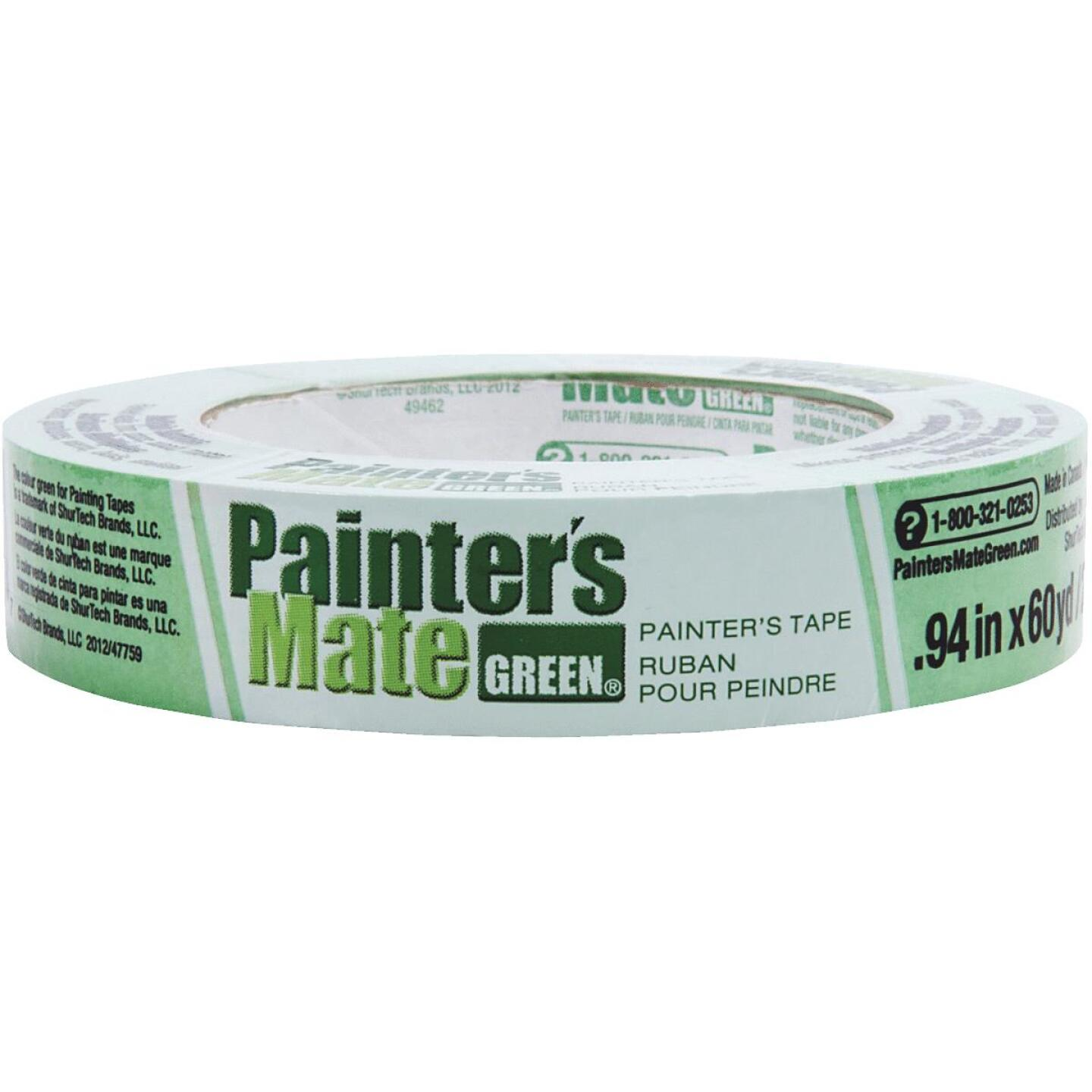 Painter's Mate Green 0.94 In. x 60 Yd. Masking Tape Image 1