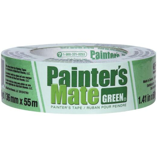 Painter's Mate Green 1.41 In. x 60 Yd. Masking Tape