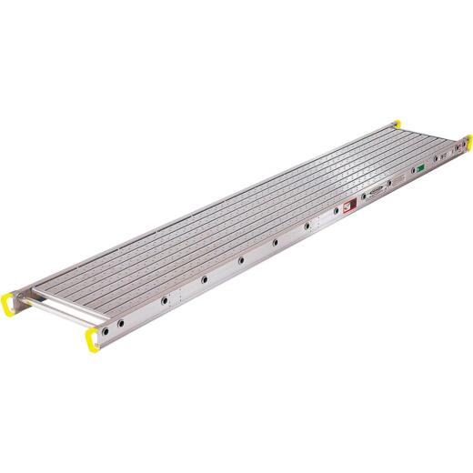 Werner Task-Master 2 Person, 500 LB. Load Capacity 24 Ft. Aluminum Stage Extension Plank