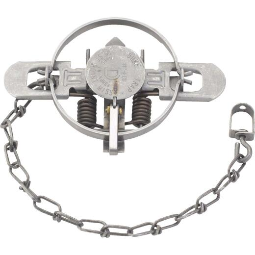 Duke Traps 4.75 In. Jaw Spread Steel Coil Spring Fox, Mink, Nutria, & Raccoon Trap